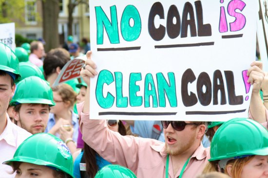 no clean coal